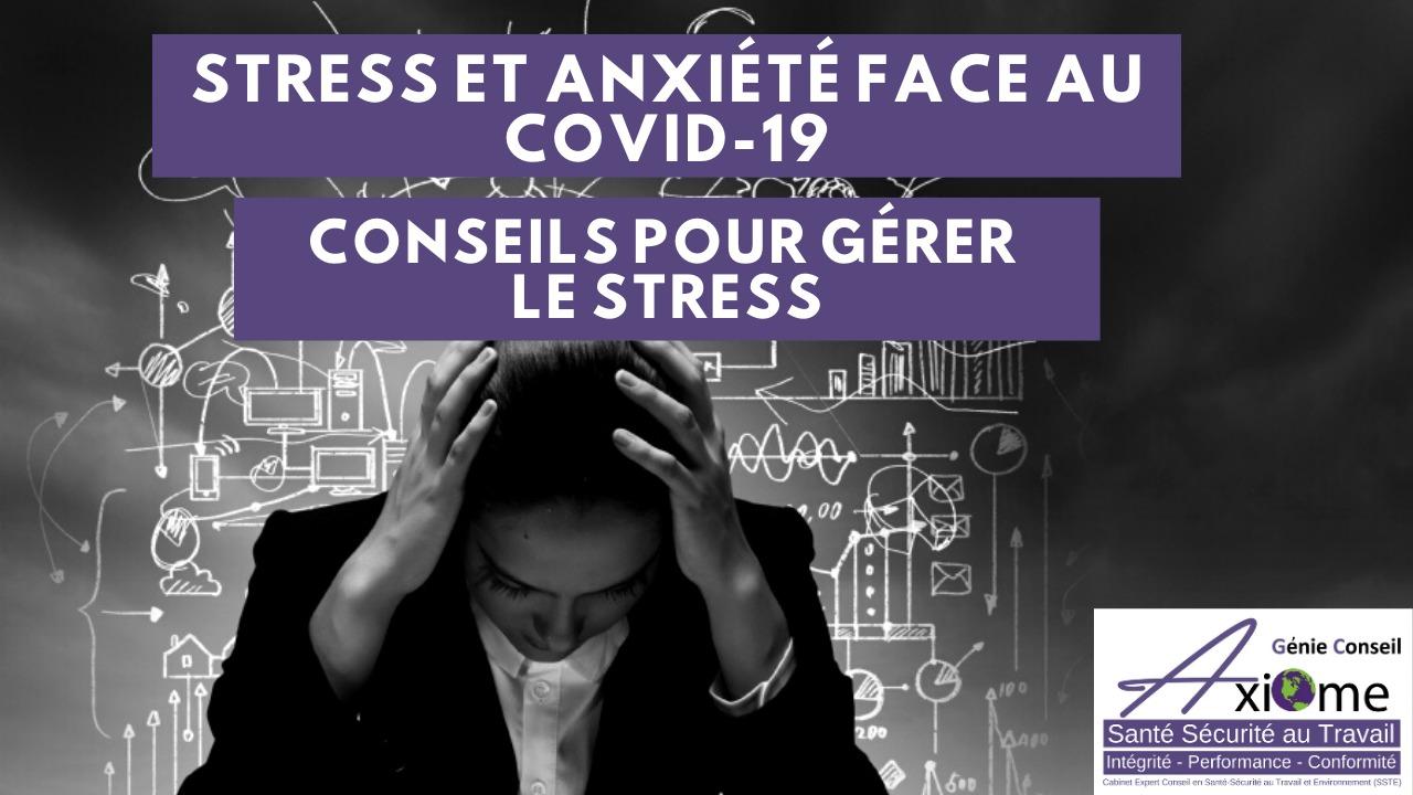 Formation gratuite en ligne – Gestion du Stress & Covid-19